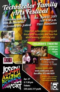 Free Technicolor Family Arts Festival