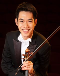 Indianapolis Violin Competition Gold Medalist Richard Lin DFW Debut