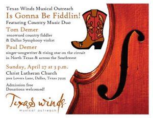Texas Winds Is Gonna Be Fiddlin'
