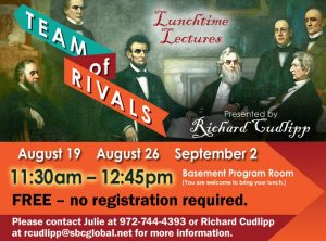 Lunchtime Lectures:  Team of Rivals