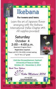 Ikebana for Tweens and Teens