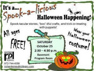 Spook-a-licious Halloween Happening