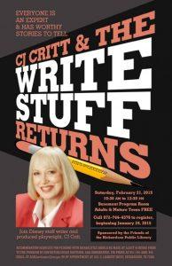 The Write Stuff Returns
