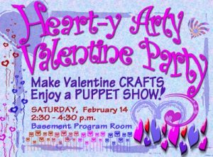 Heart-y Arty Valentine Party