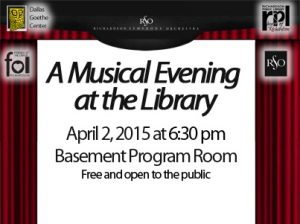 A Musical Evening at the Library