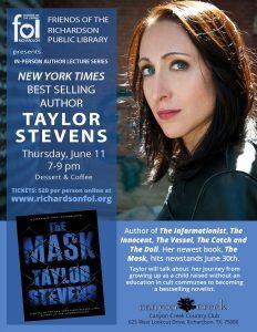 InPerson Author Lecture Series - Taylor Stevens
