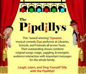 Summer Reading Kickoff with the Pipdillys