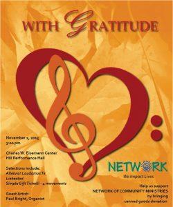 Free Concert:  With Gratitude