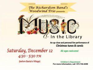Richardson Band Woodwind Trio