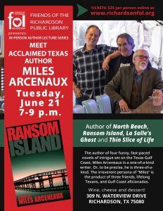 InPerson Author Event with Miles Arceneaux