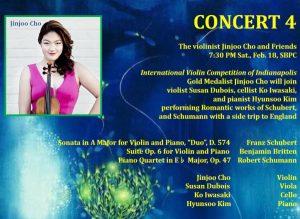 Chamber Music International 2016-2017 Concert 4