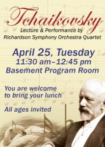 Tchaikovsky Lecture & Performance
