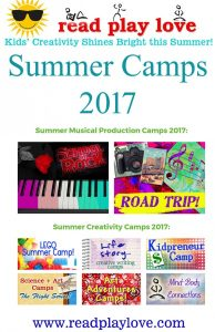Children's Theatre and Creativity Summer Camps