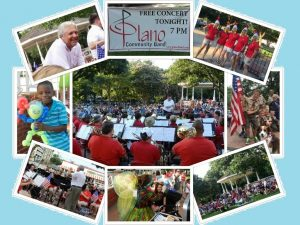 Plano Community Band Presents