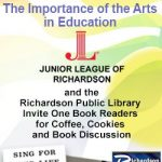 RROB Book Discussion: The Importance of the Arts in Education