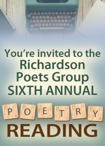 Richardson Poets Group Poetry Reading