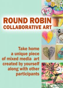 Round Robin Collaborative Art