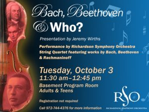 Bach, Beethoven & Who?