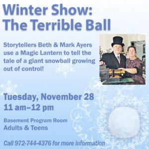 Winter Show: Magic Lantern