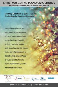 Plano Civic Chorus Christmas Concert