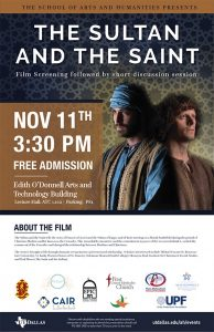 Film Screening: The Sultan and the Saint