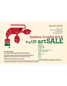 Crawfish Boil & PopUP Art Event