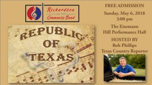 Free Concert:  Republic of Texas