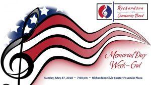 RCB Summer Concert Series:  Memorial Day