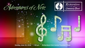 RCB Summer Concert Series:  Adventures of Note