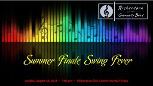 RCB Summer Concert Series:  Summer Finale Swing Fever