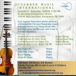 Chinese/Taiwanese composers meet Dvorak's Bohemia