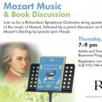Mozart Music & Book Discussion