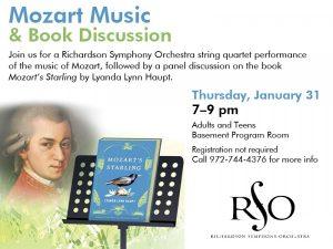 Mozart Music & Book Discussion