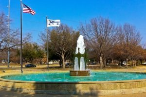 Richardson Civic Center Fountain